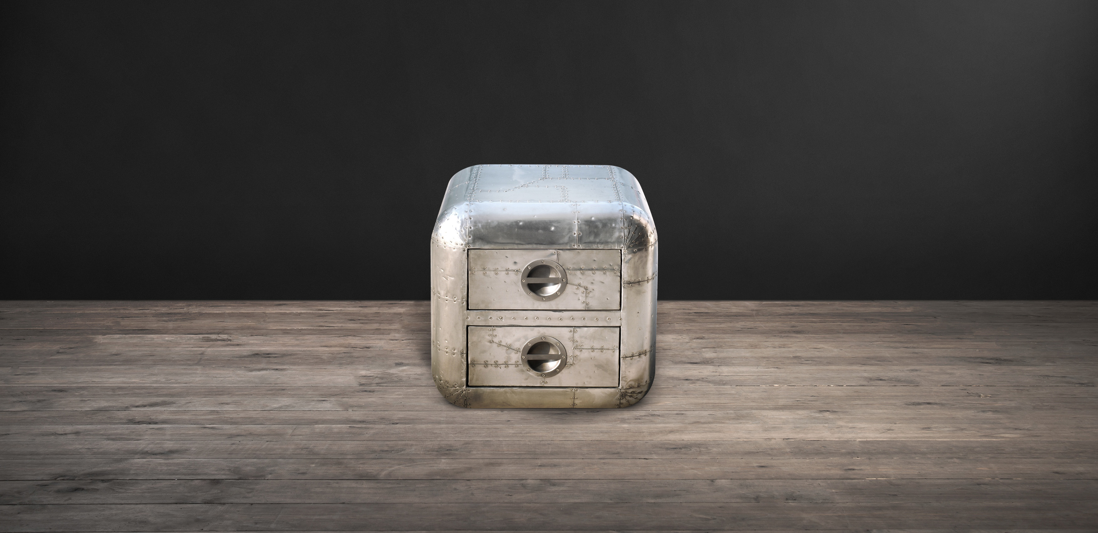 Aviator Blackhawk Side Table | Timothy Oulton