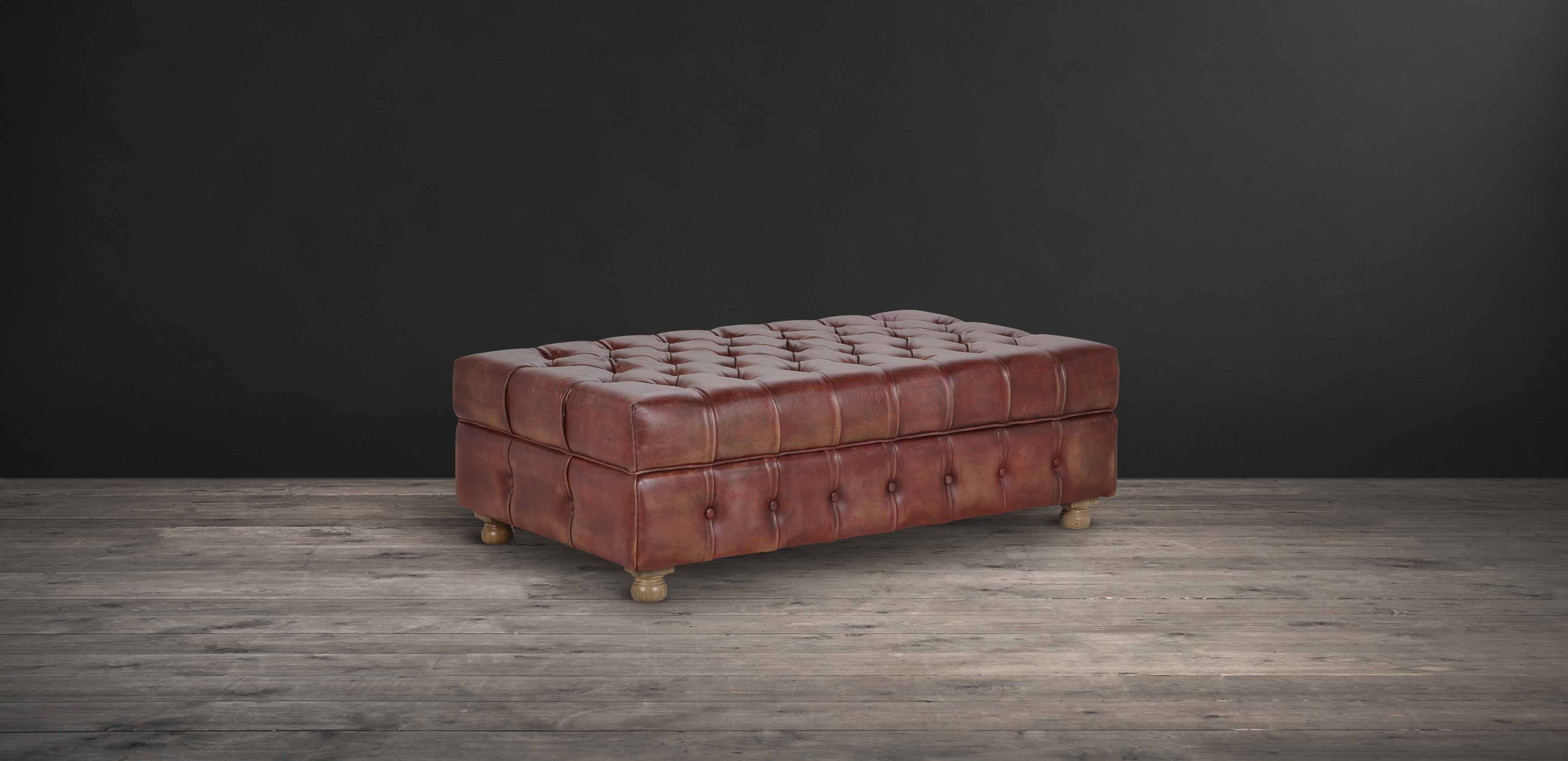 Westminster Button Ottoman | Timothy Oulton