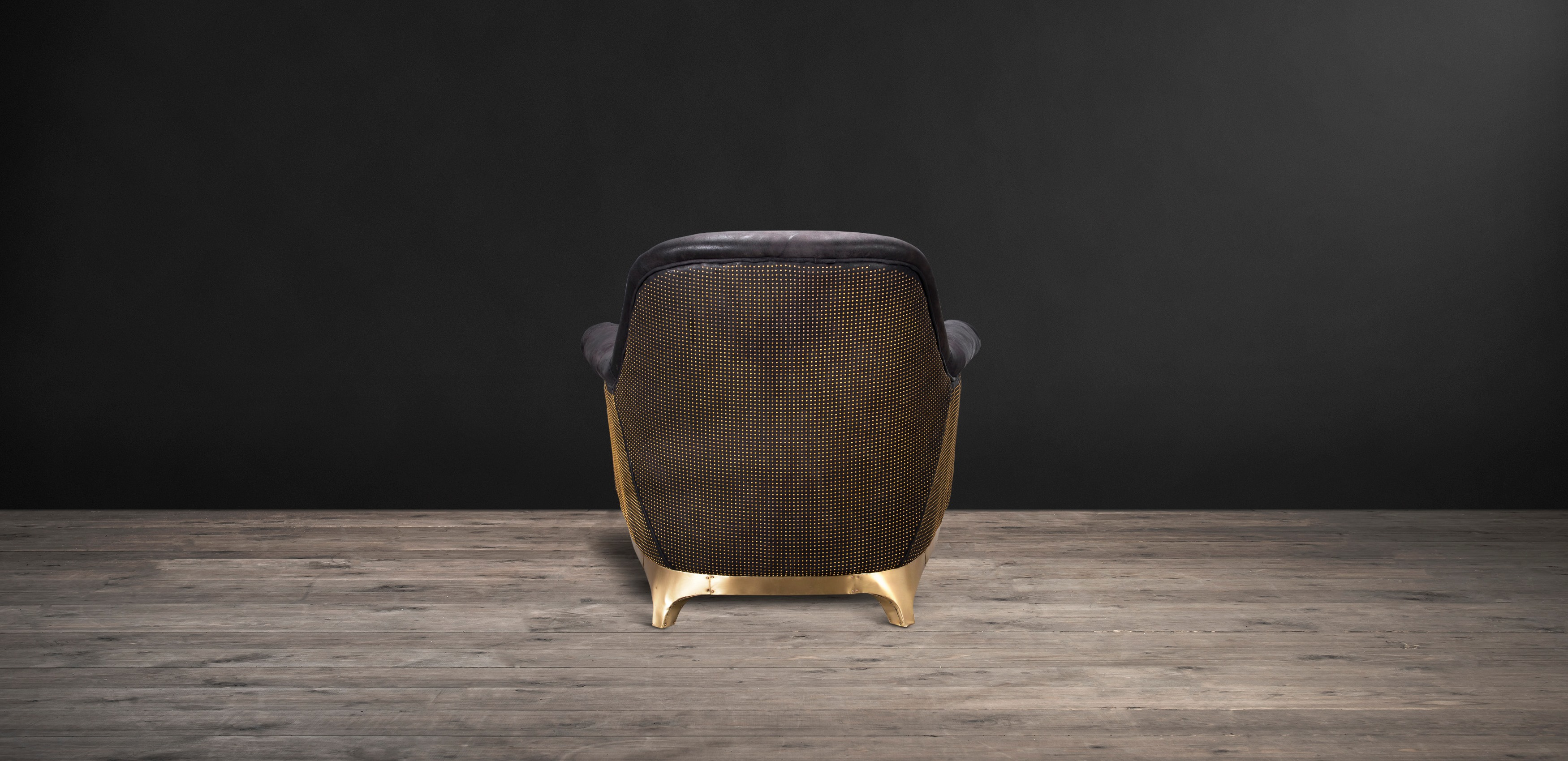Pixel Leather Armchair - Bastille | Timothy Oulton