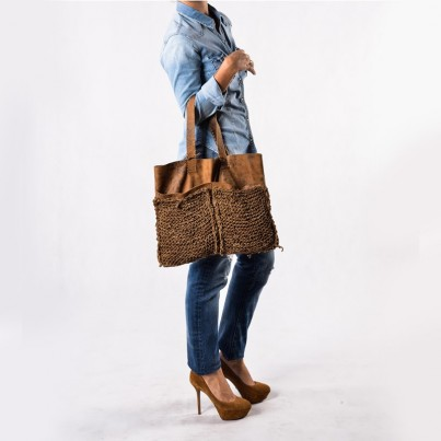 Ashdown tote bag Gaucho leather