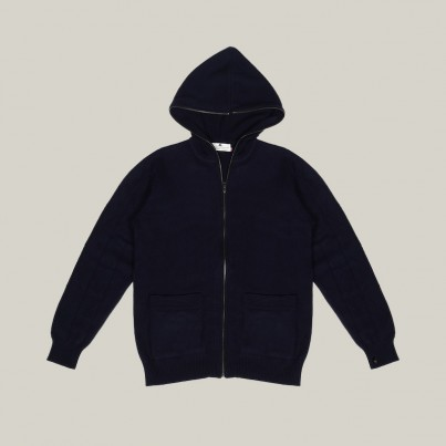 Hooded Cashmere Jumper