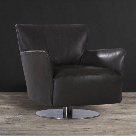 Leather & Fabric Armchair - Avo | Timothy Oulton