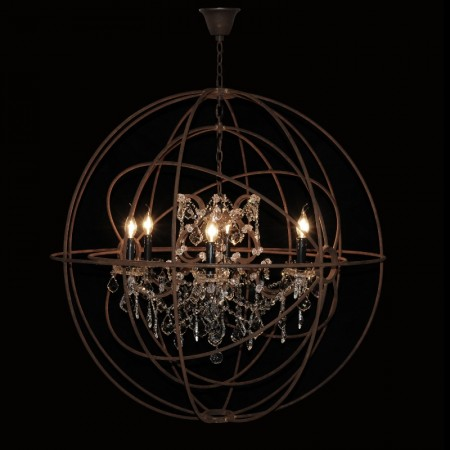 Gyro Crystal Chandelier