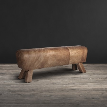 Double Bench - Savage Leather