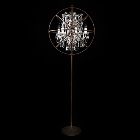 Gyro Crystal Floor Lamp