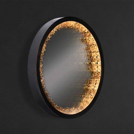 Inception Rock Crystal Mirror