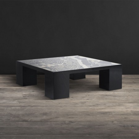 Marble Map Coffee Table