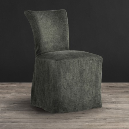 Dining Chair - Scuff Linen Gorse