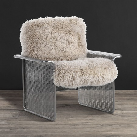 Leather & Fabric Armchair - Pixel | Timothy Oulton