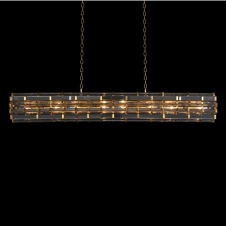 Night Rod Rectangular Pendant