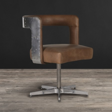 Circus Chair with Metal Base