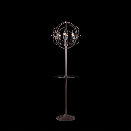 Gyro Floor Lamp with Tray