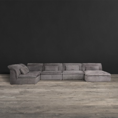 Pillow Sectional Sofa