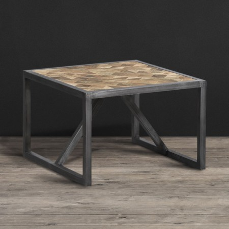 Vestige Industrial Side Table