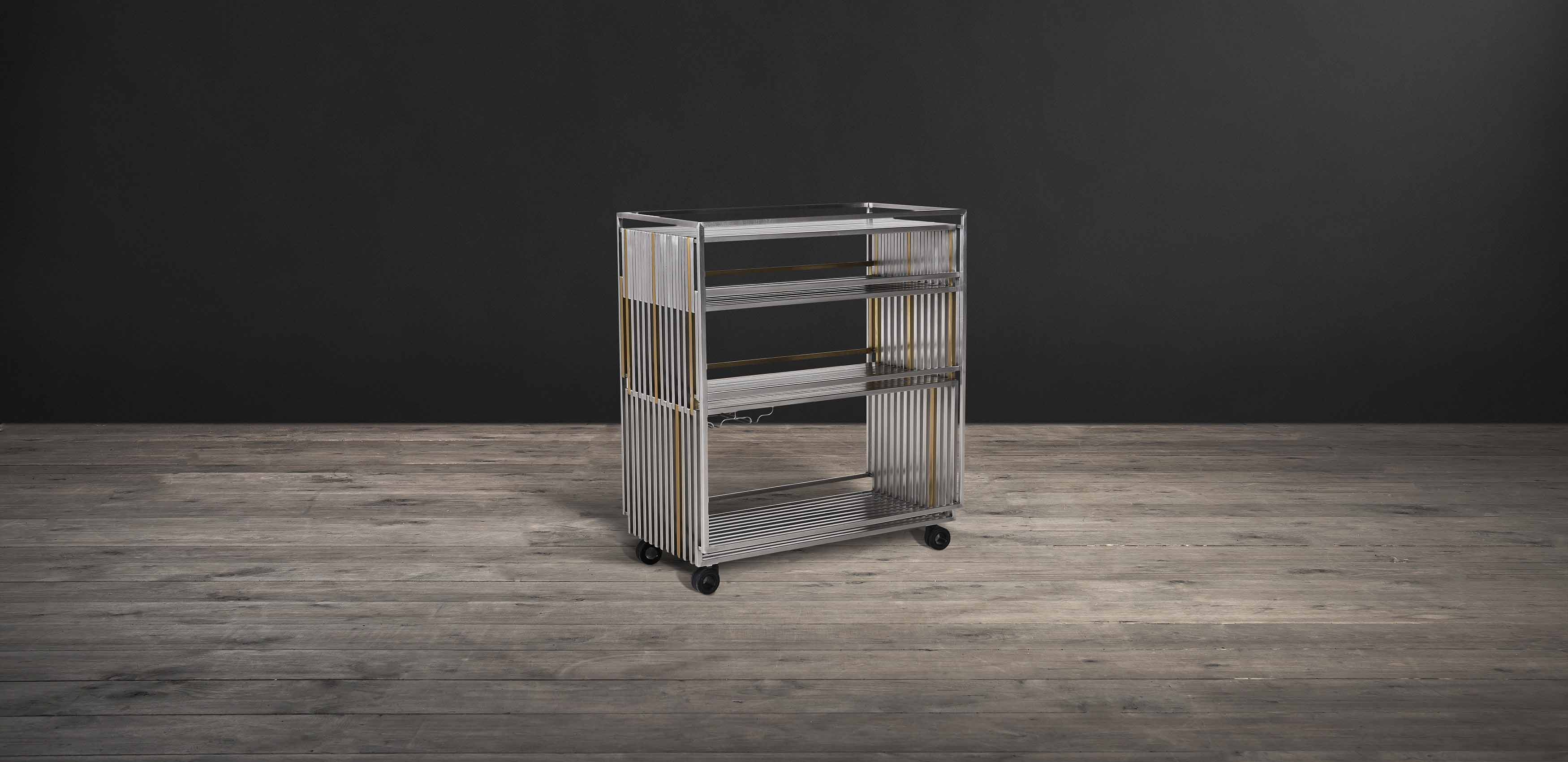 Empire Bar Cart - Timothy Oulton