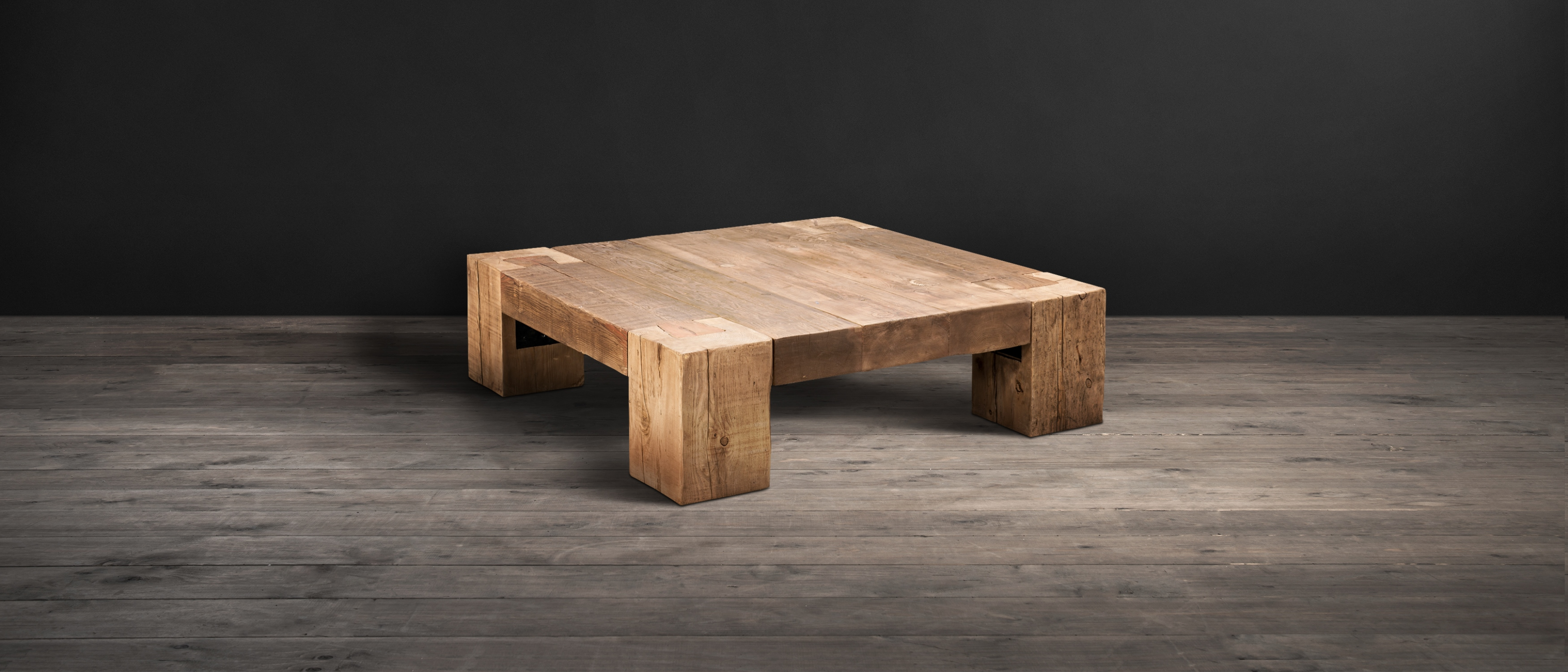 Wood Coffee Tables English Beam