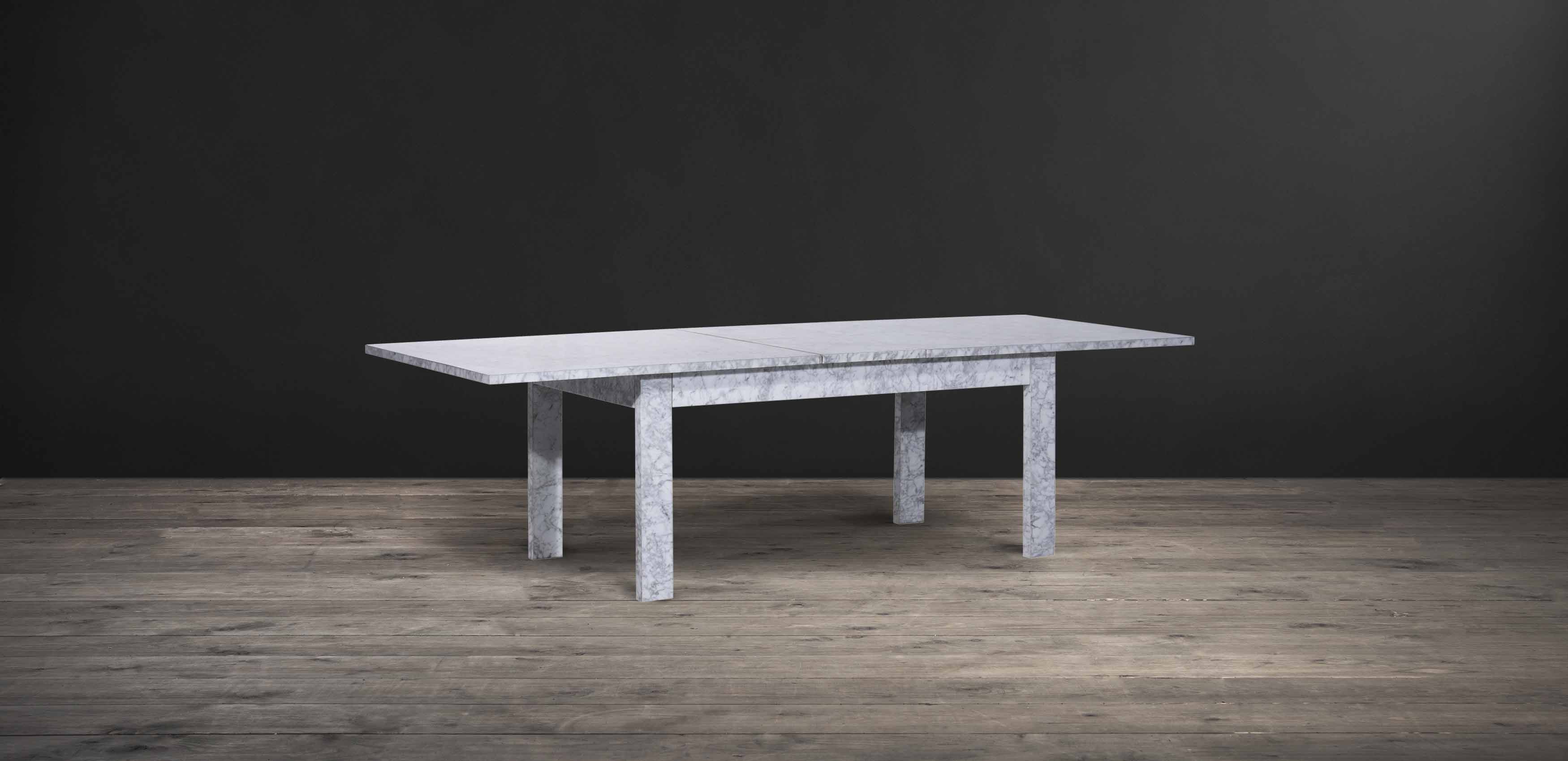 Expanse marble dining table