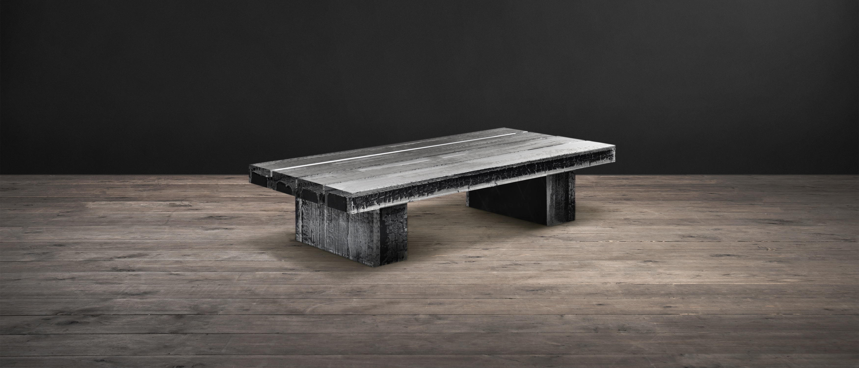 Acrylic & Wood Coffee Tables – Glacier