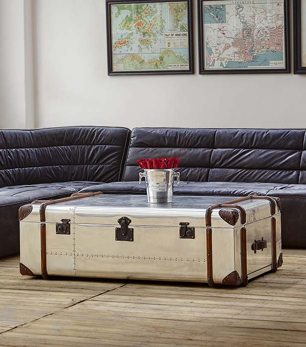 Globetrekker Aero Coffee Table | Timothy Oulton