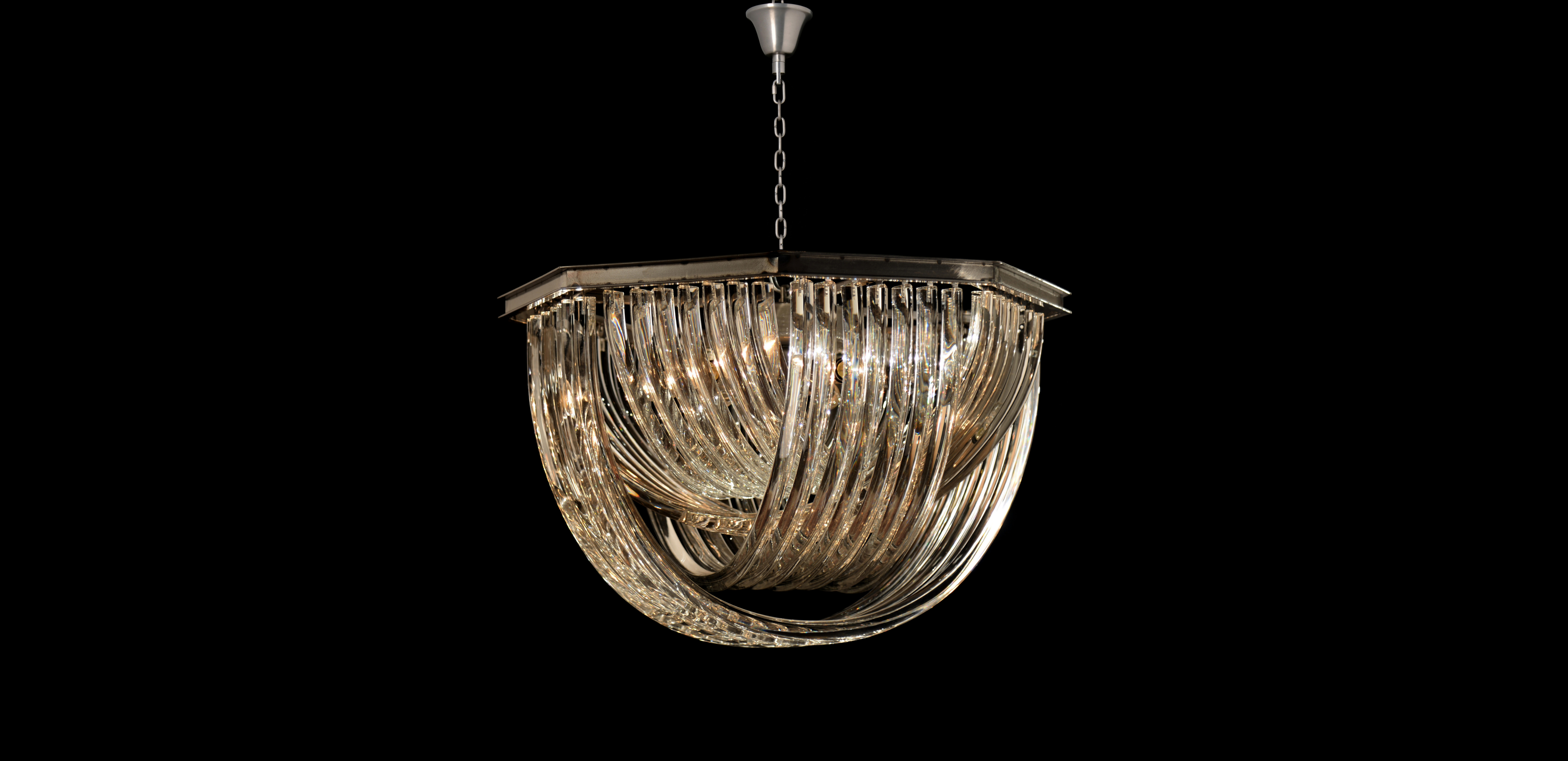 Crossglass Pendant Hanging Light