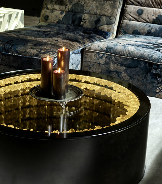 Inception Rock Crystal Coffee Table | Timothy Oulron