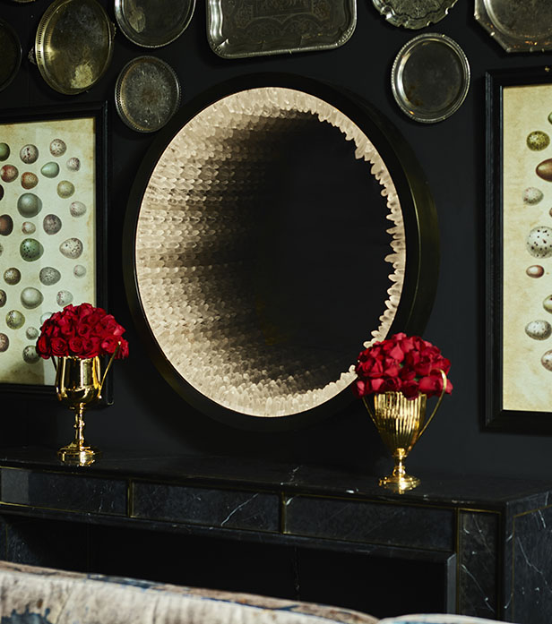 Inception Rock Crystal Mirror | Timothy Oulton