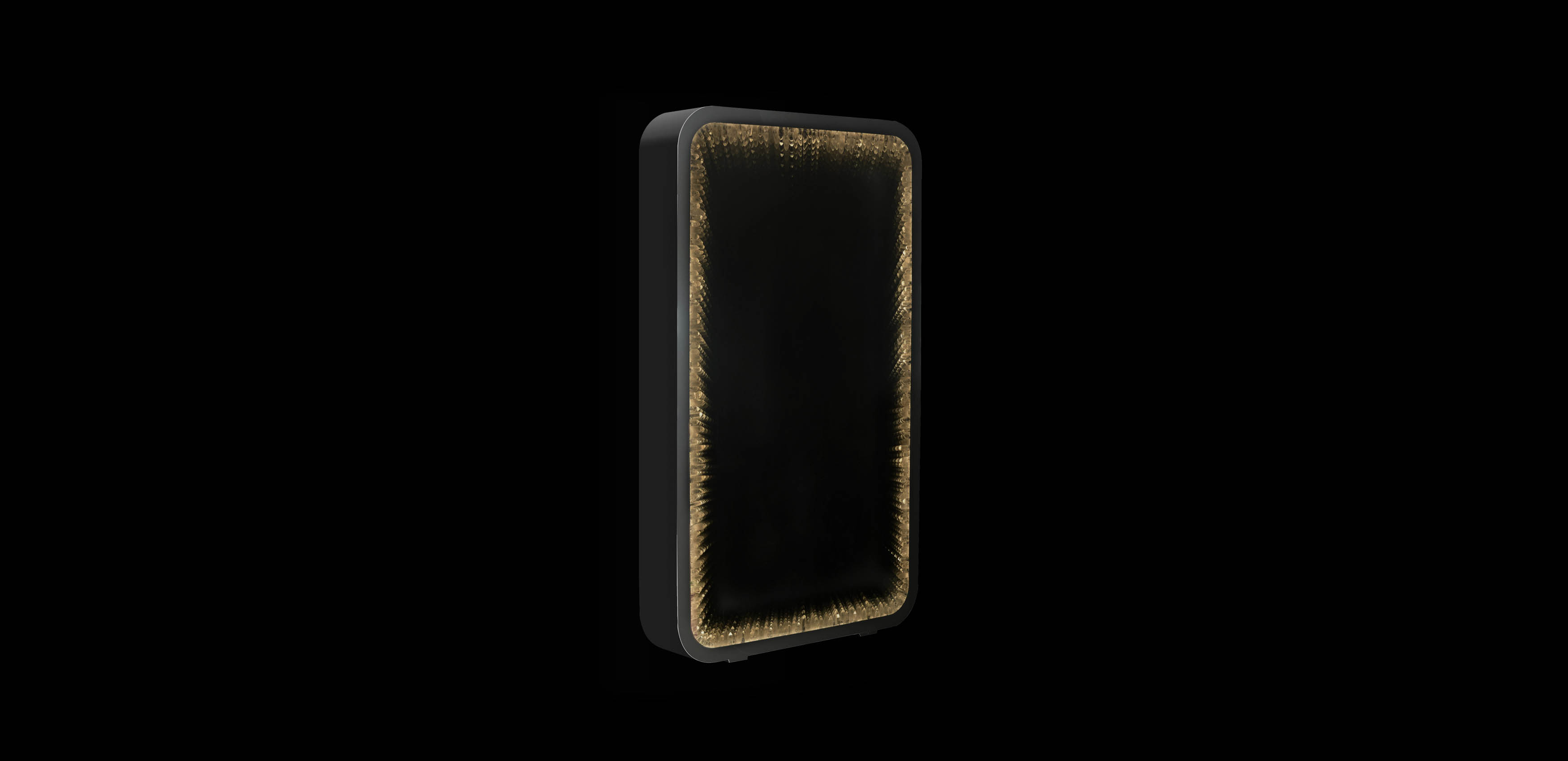 Inception Rock Crystal Tall Mirror | Timothy Oulton