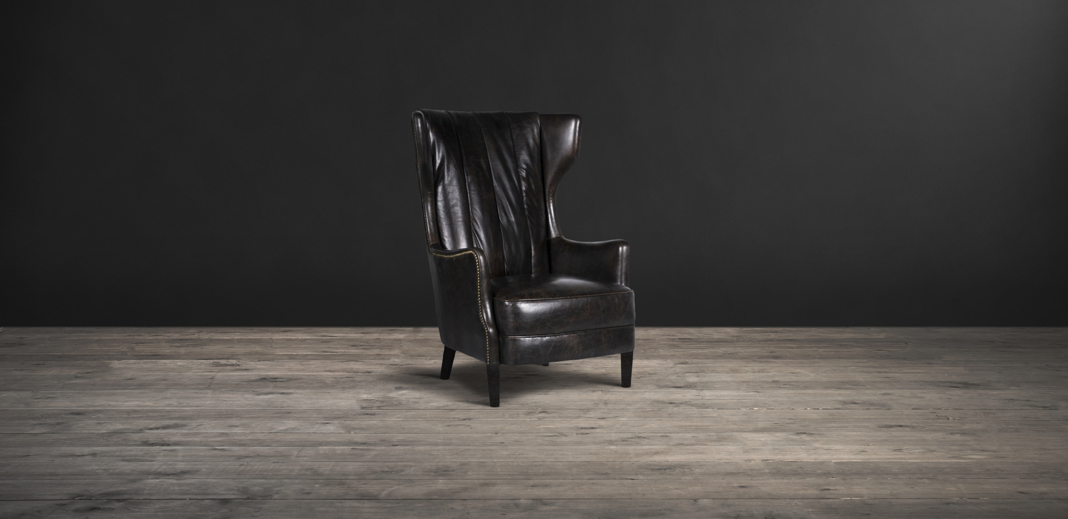 Leather & Fabric Armchair - Manor | Timothy Oulton