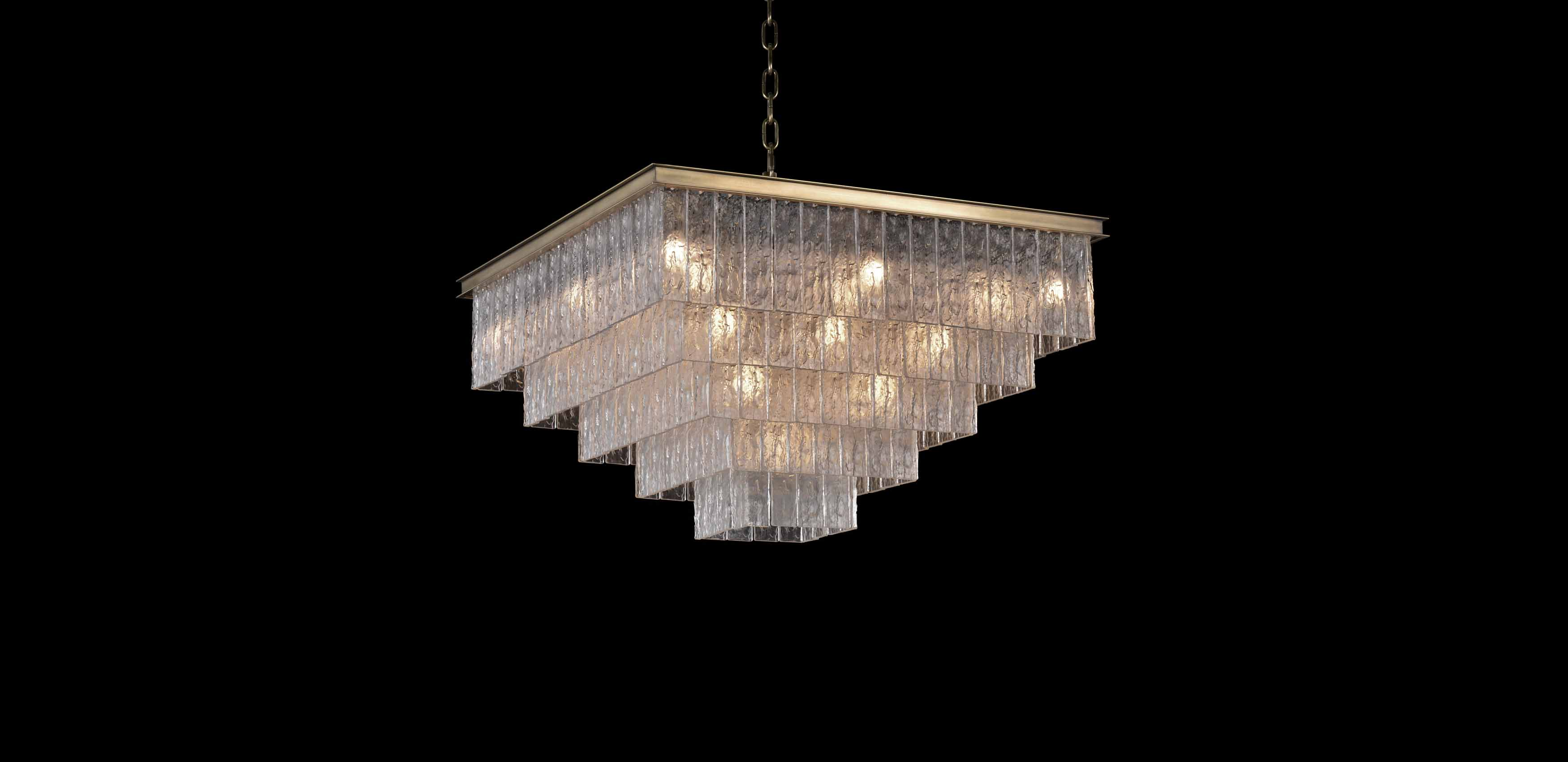 voptics led atria tier chandelier two with adjustable ceilings product white modern image suspension light ceiling continuu wb in cover duo pearlpure and technologies fixture square