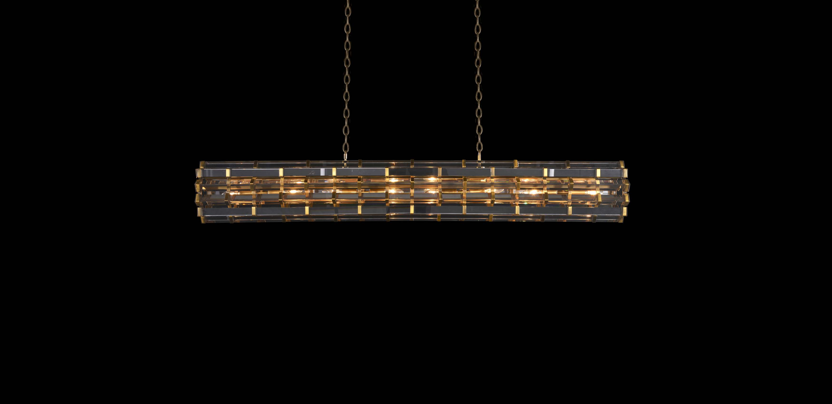 Night Rod Rectangular Pendant | Timothy Oulton