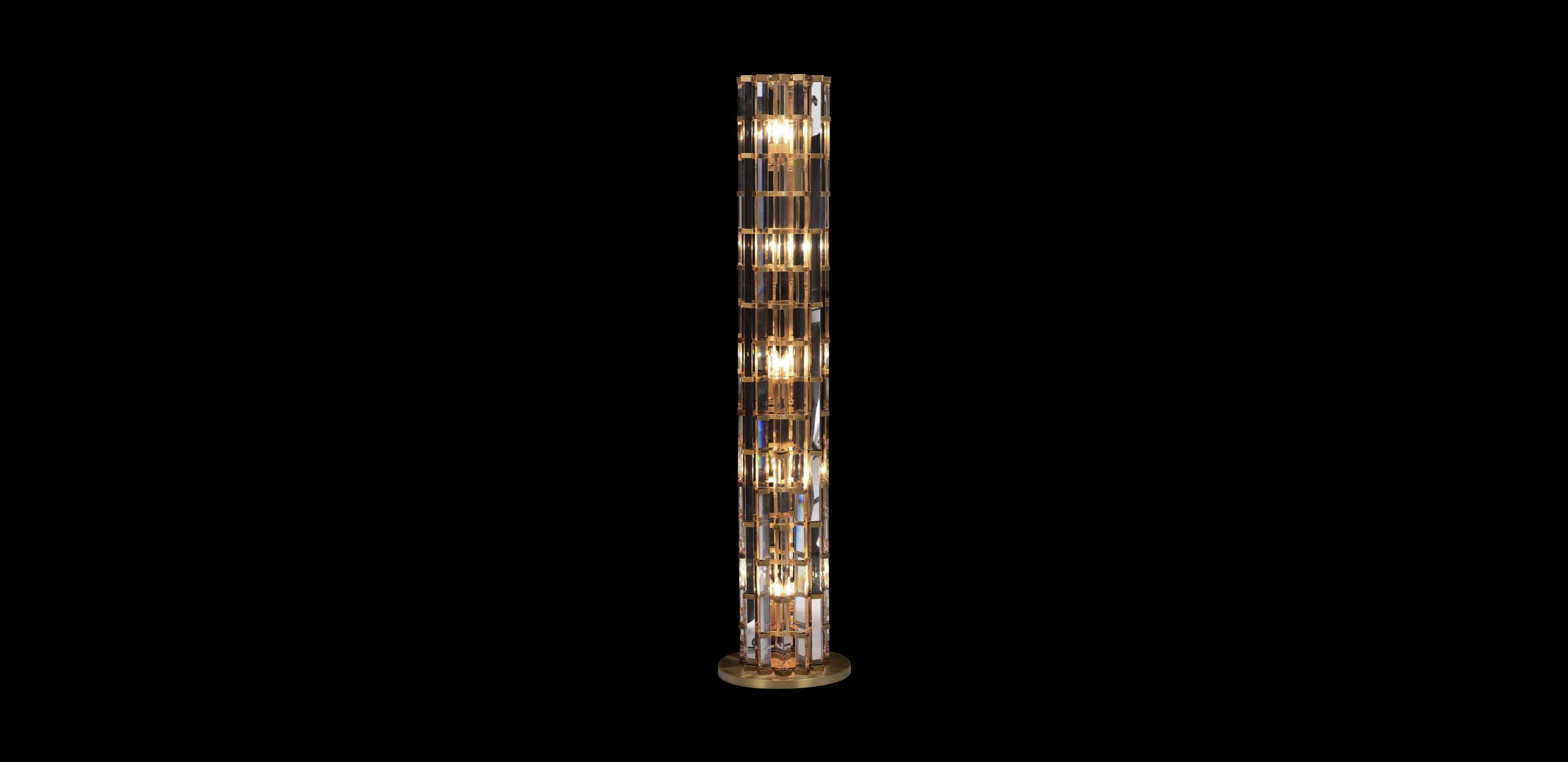 Night Rod Short Floor Lamp | Timothy Oulton