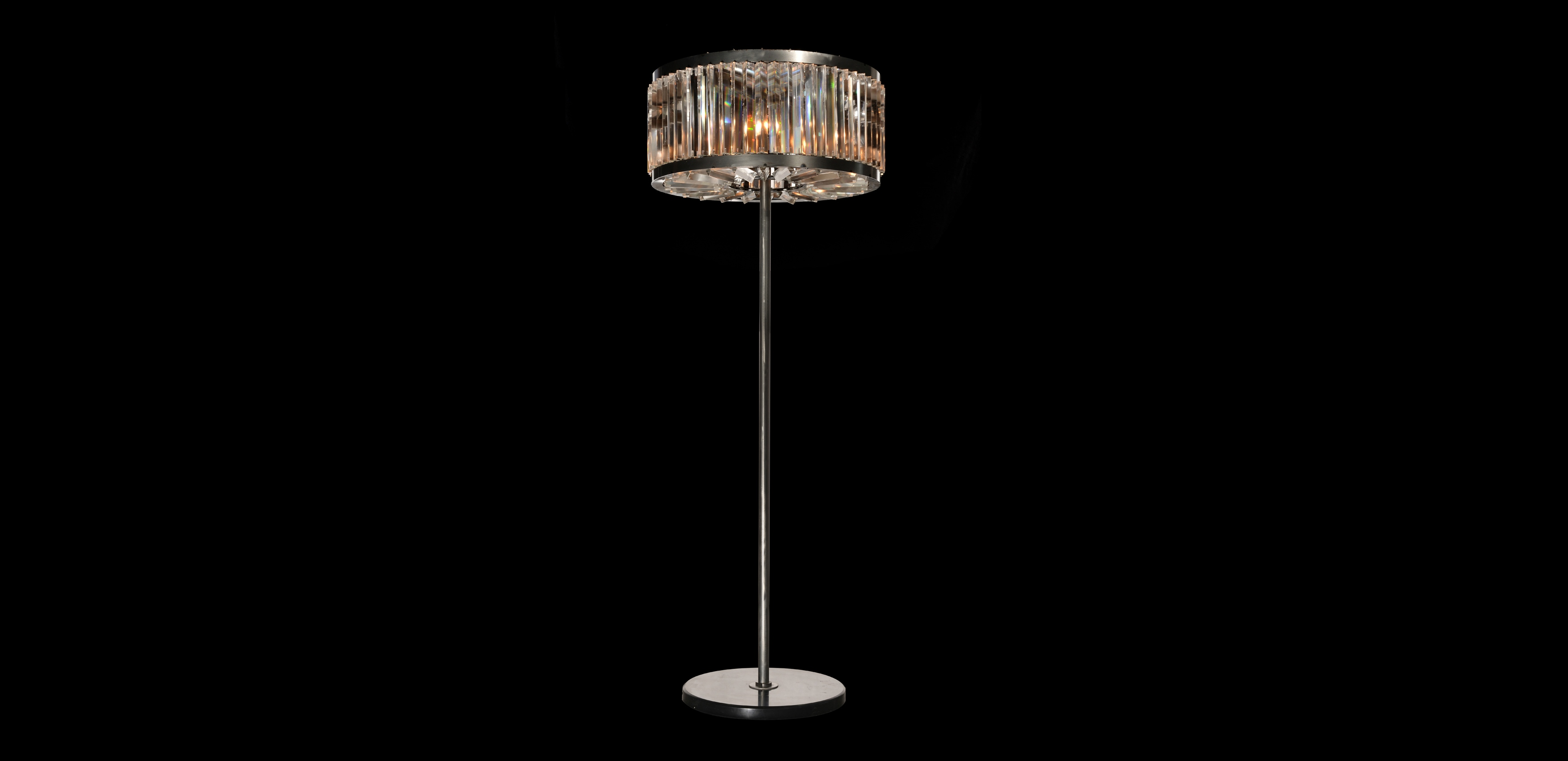 Glass Floor Lamps Night Rod