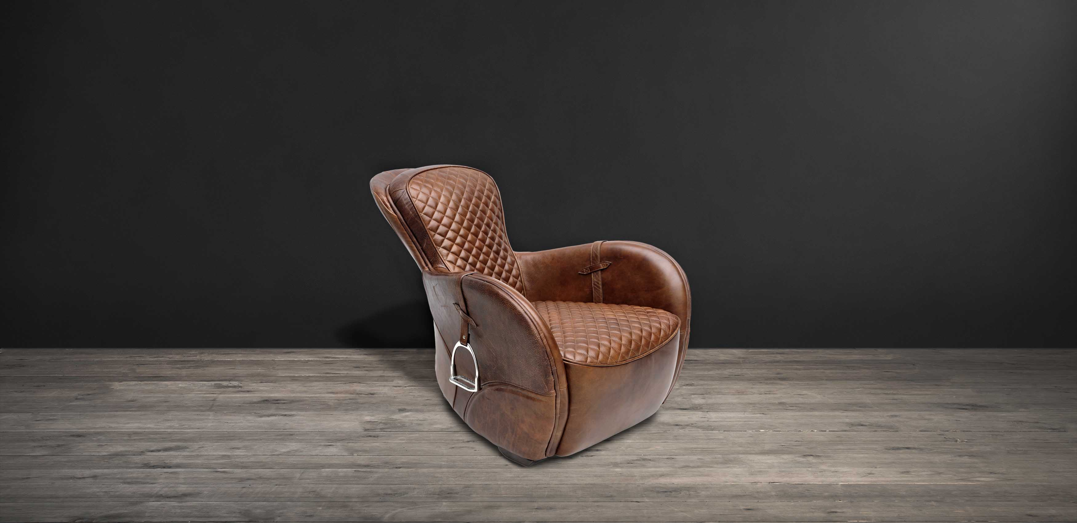Leather Armchair - Saddle | Timothy Oulton Collection