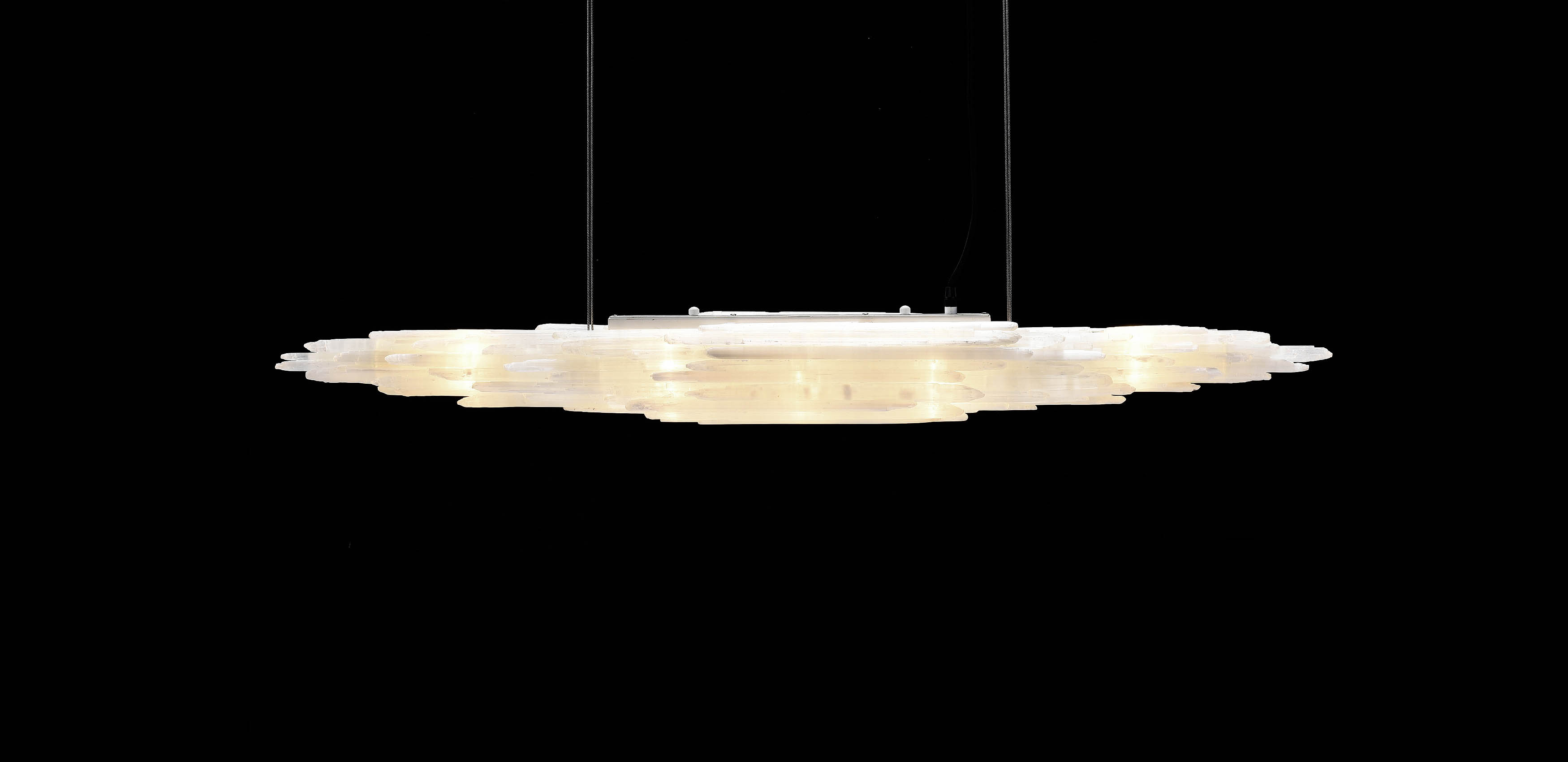 Selenite Rectangular Pendant | Timothy Oulton