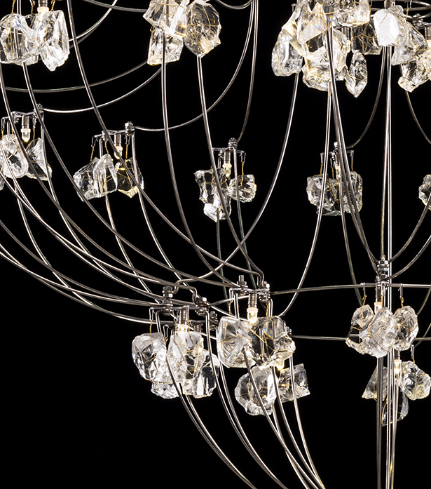 Timothy Oulton glass chandeliers - Classic Volt
