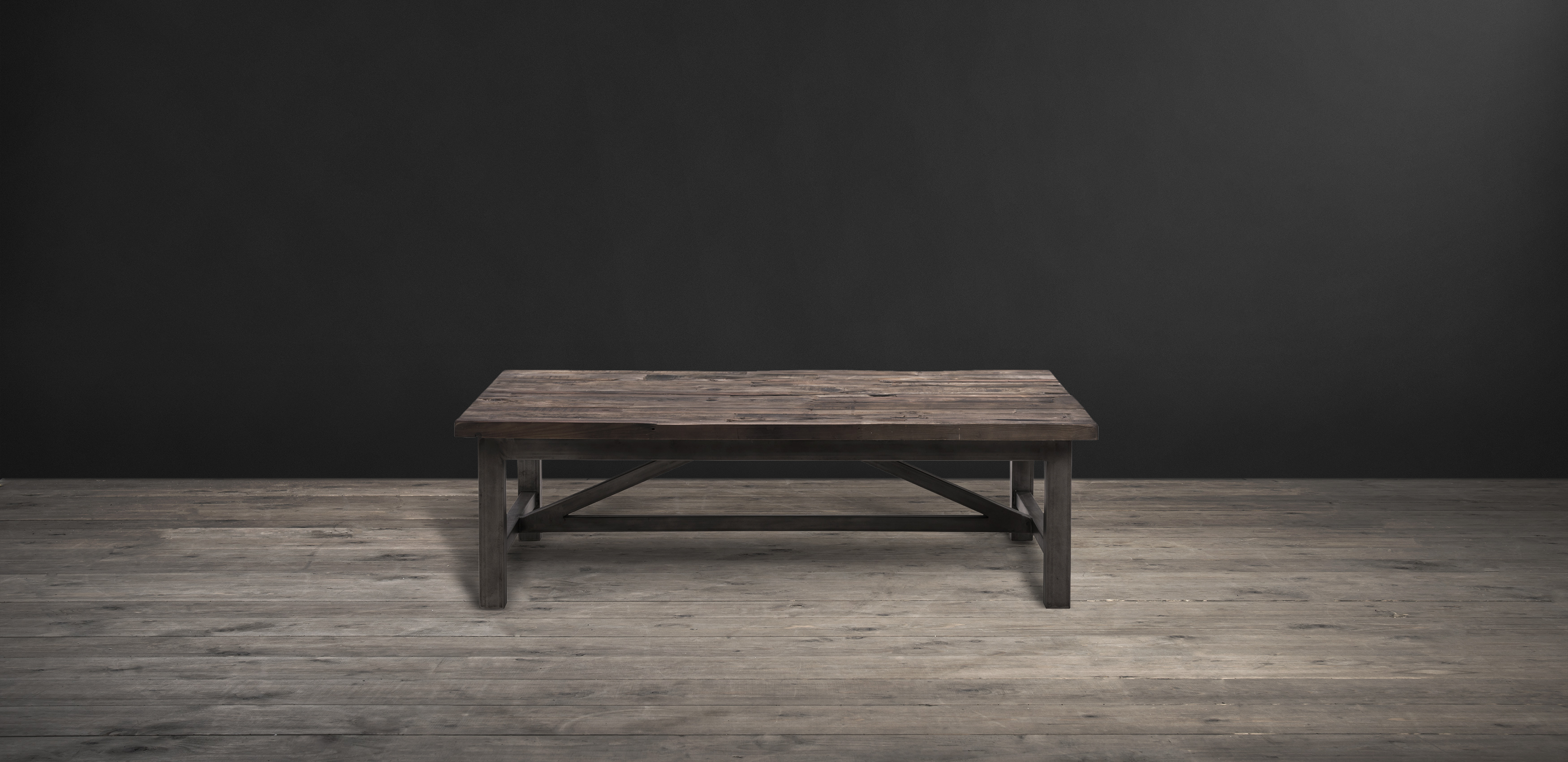 Timothy Oulton coffee table in reclaimed wood - Axel Parquet