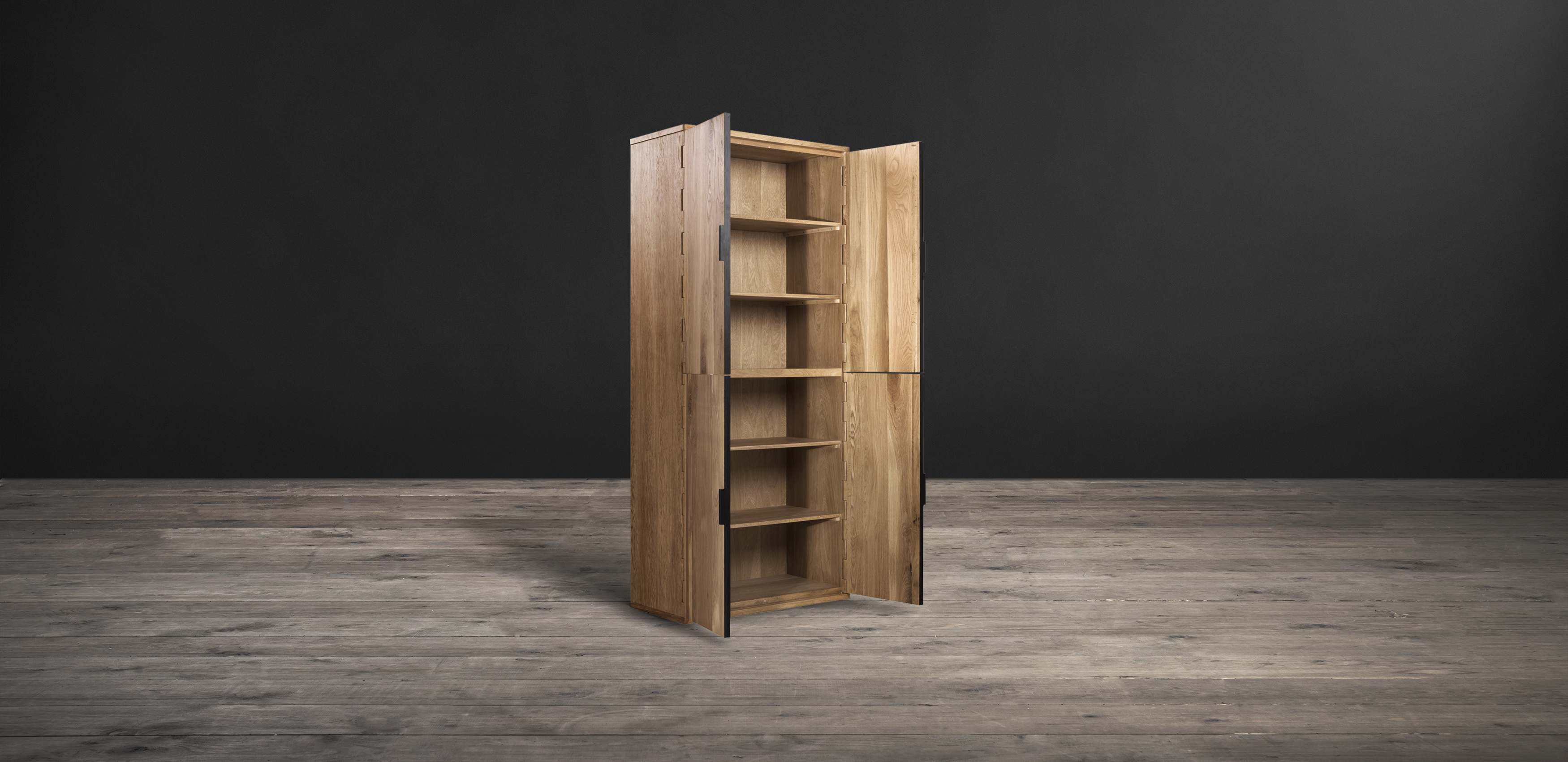 Timothy Oulton wooden cupboard - Hinge