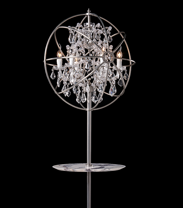 timothy oulton floor lamp with tray gyro crystal