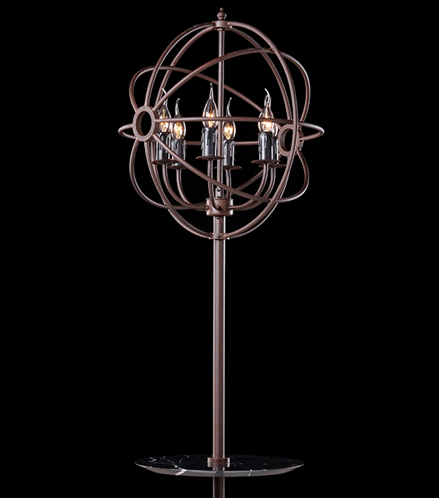 Timothy Oulton floor lamp with tray - Gyro