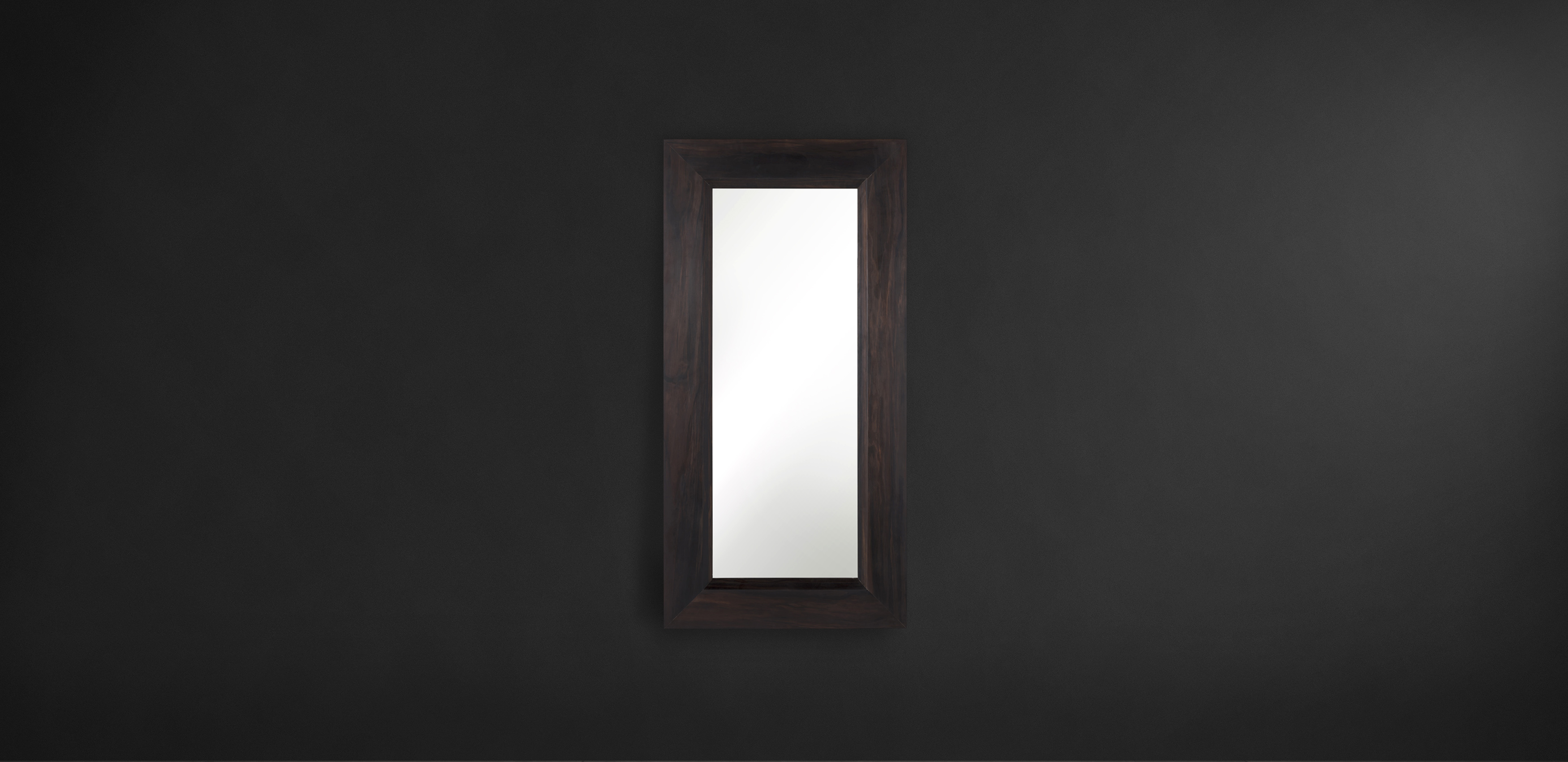 Timothy Oulton wooden mirror - Dark Mirror