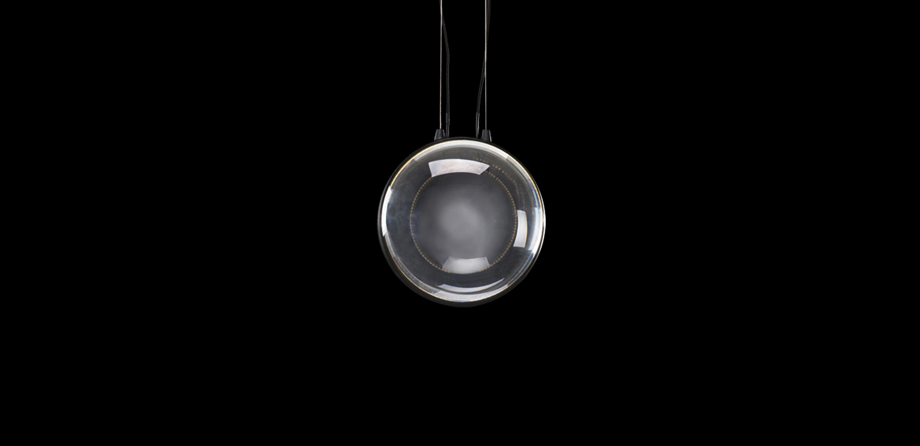 Timothy Oulton glass pendants - Stellar