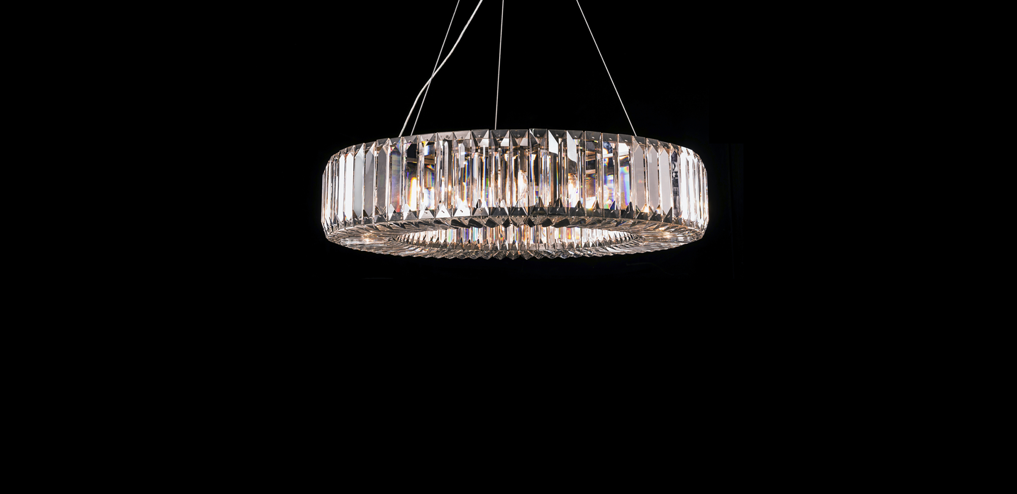 Timothy Oulton glass pendants - Herodes