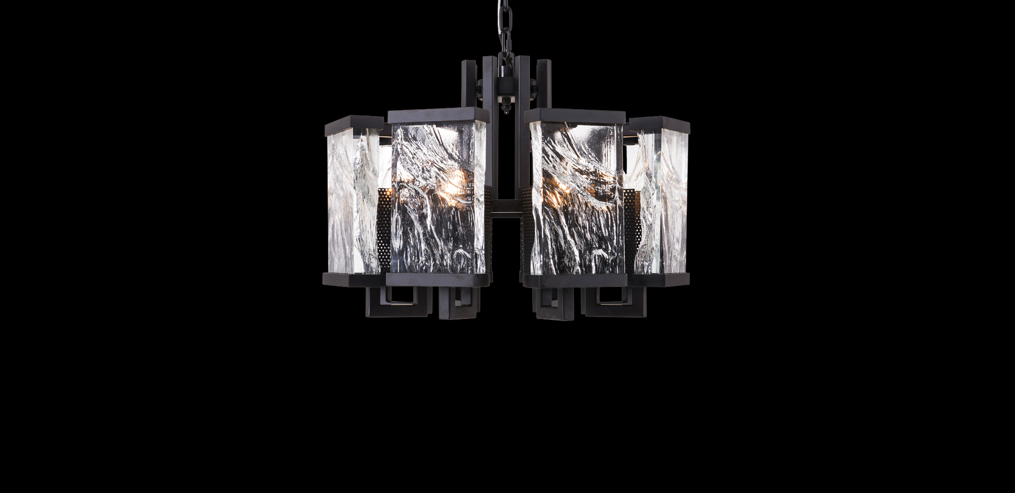 matt pendant ceiling multi light classic holborn glass triple in black rose