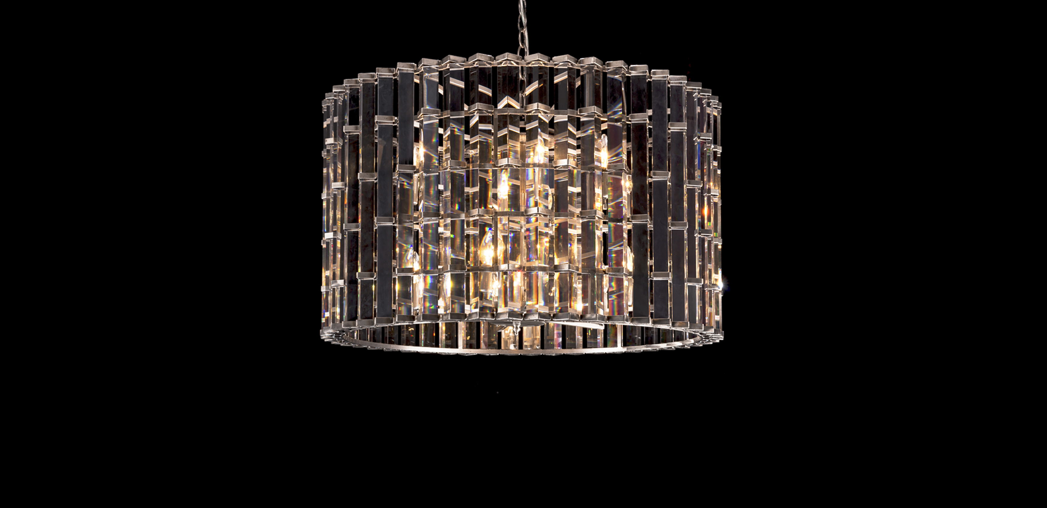 Timothy Oulton bronze pendants - Night Rod