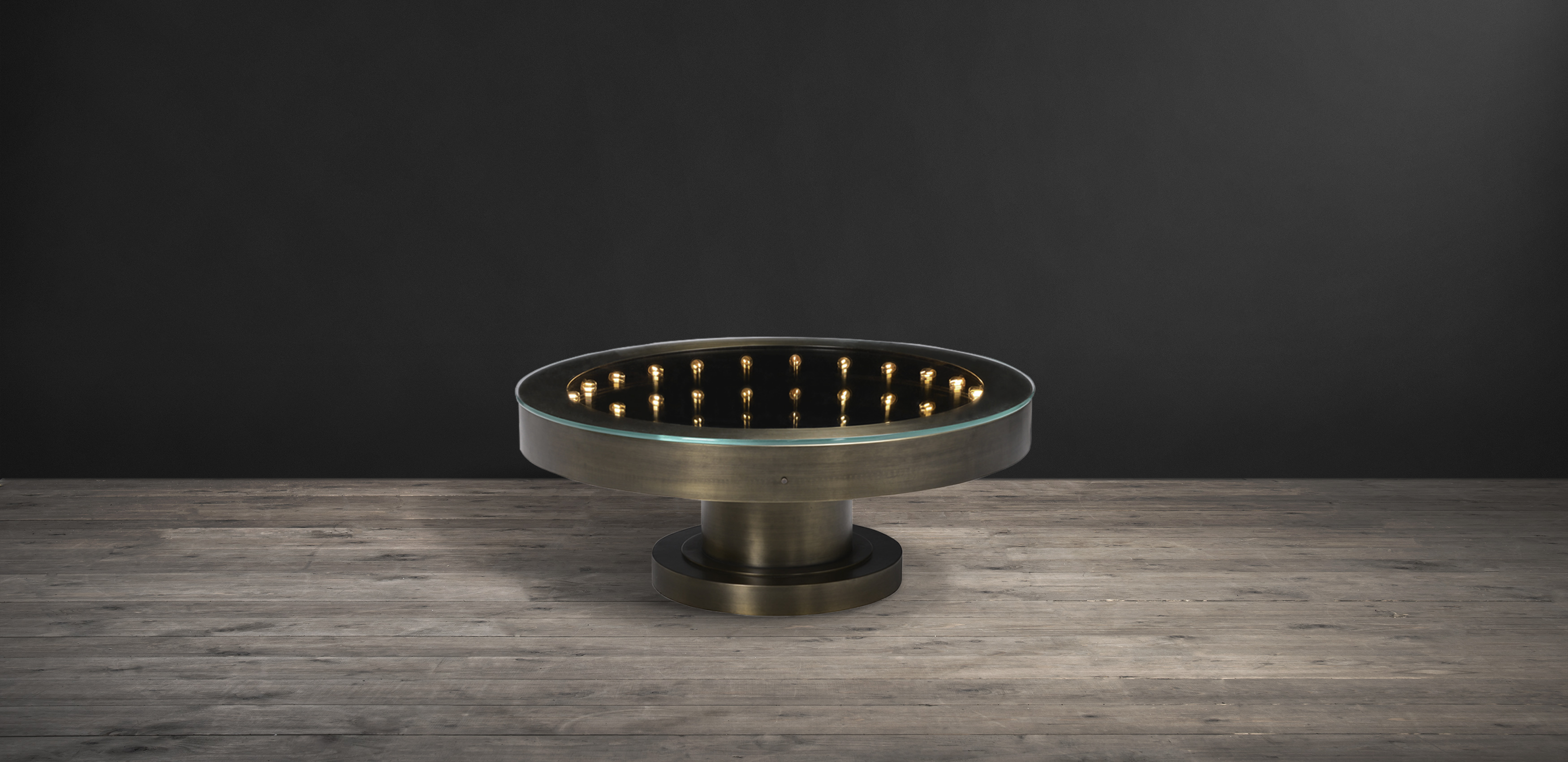 Brass & Glass Coffee Tables Inception