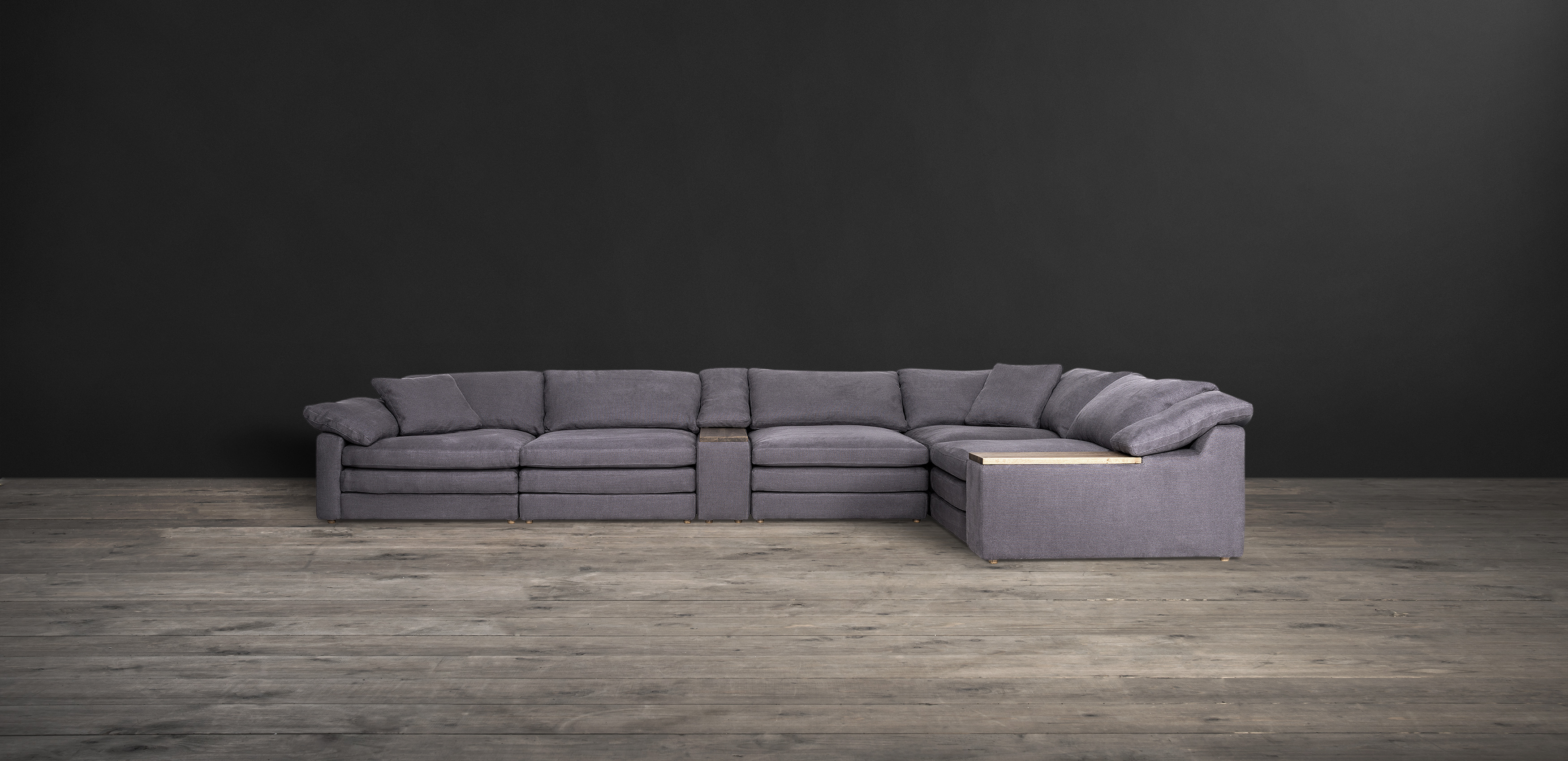 Leather & Fabric Sectional Sofas Alto
