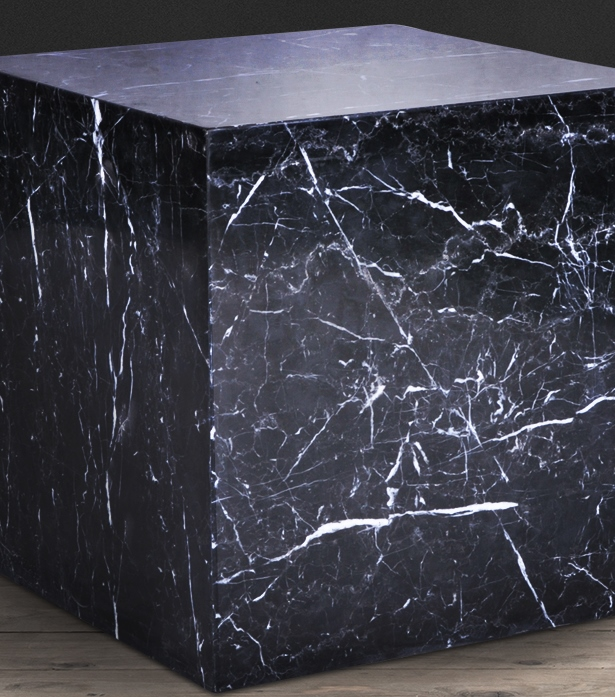 Marble Cube Side Table Side Tables Furniture Living
