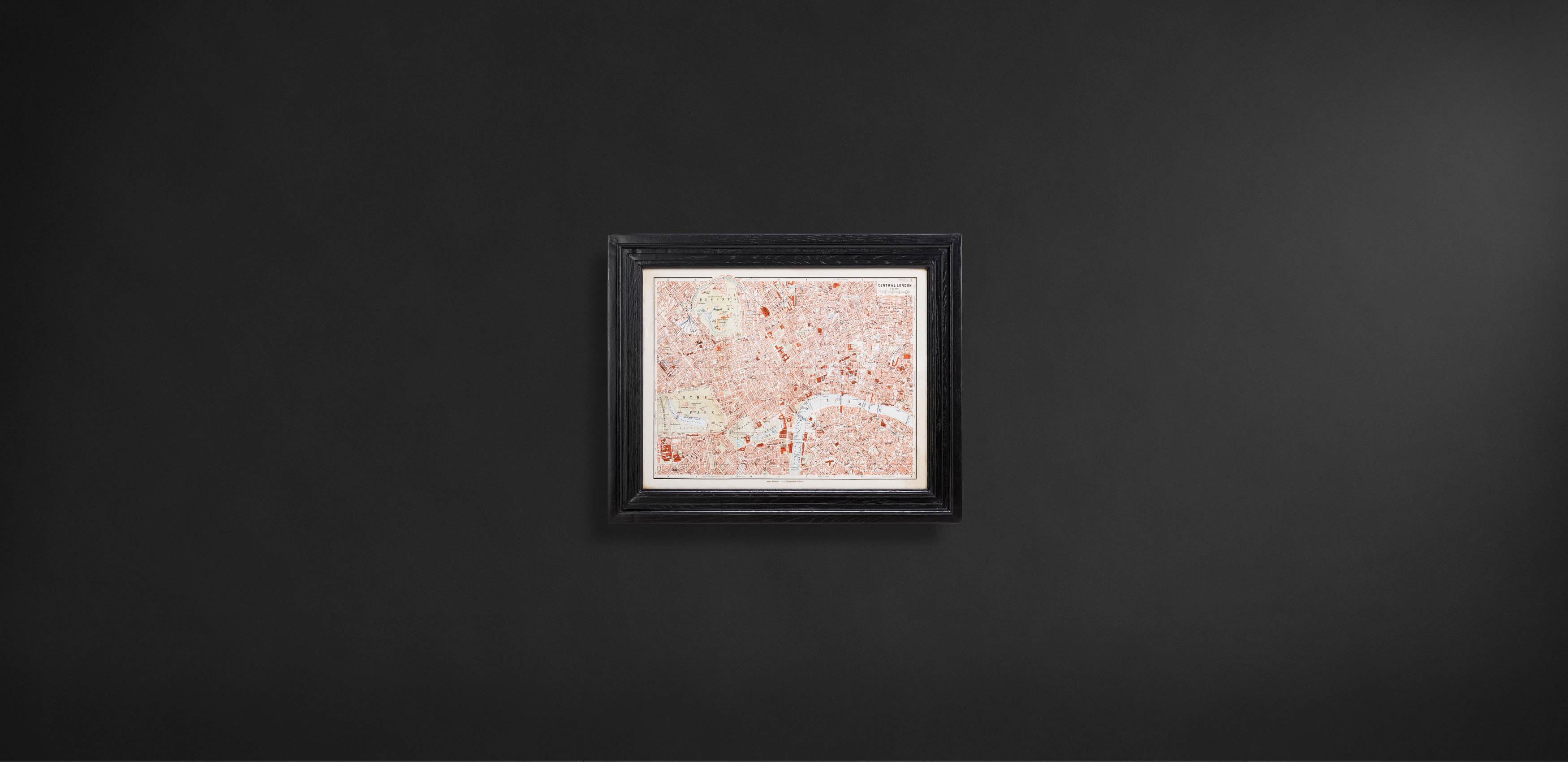 Timothy Oulton maps wall art - Classic Maps