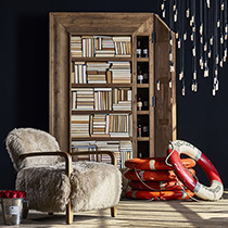 Timothy Oulton Ridge Bookcase