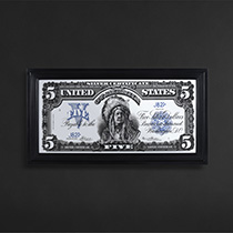 Timothy Oulton Silver Certificate Wall Art